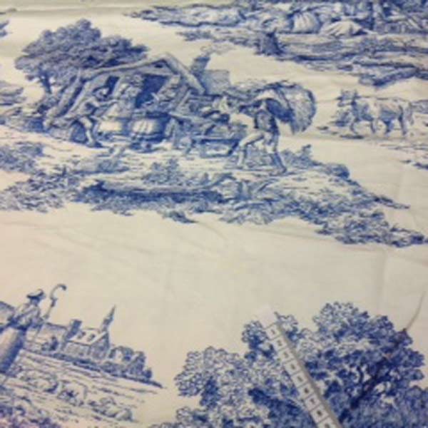 Blue/white country scenes