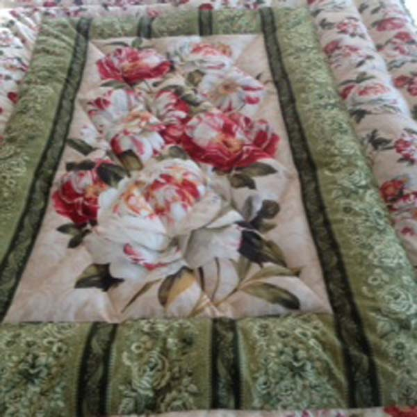 Eiderdown big roses (Double)