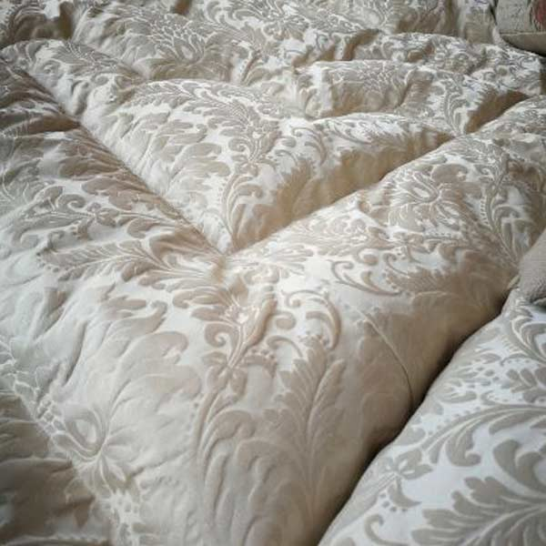 Ivory brocade King size