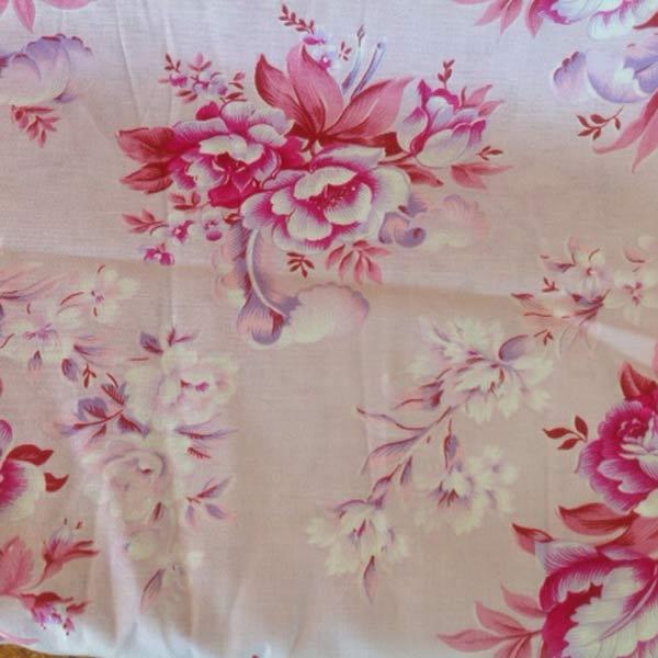 Deep pink floral