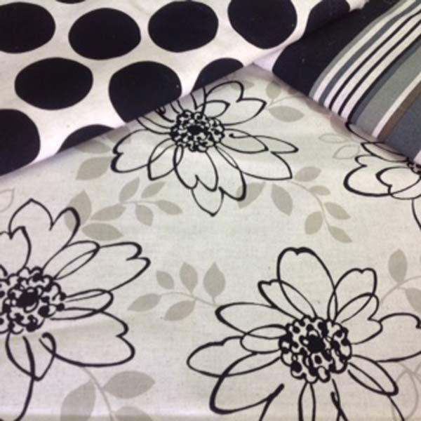 Floral/stripe/spot