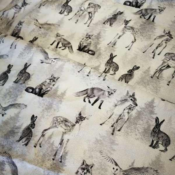 Forest animals ( grey/white)